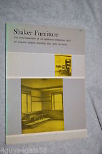 Shaker Furniture:The Craftsmanship of an American Communal Sect by Faith Andr...