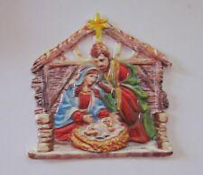 Verzierwachs-Ornament Heilige Familie* 77x80 mm*Kerzen selbst gestalten*basteln