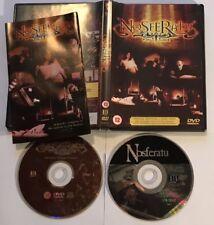 Nosferatu 2 disc special edition DVD