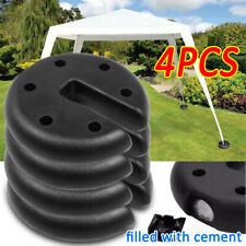 More details for 4pc outdoor canopy tent leg weights anchor stand heavy duty umbrella gazebo base