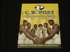 2008 - 2009 C. W. Post ( Long Island University ) Basketball Media Guide