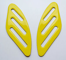 Ducati SCRAMBLER YELLOW tank Knee grip pads Protector pad Decal Sticker trim