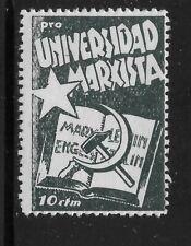 SPAIN    PRO UNIVERSIDAD   GG 2501      MINT HINGED      SPANISH CIVIL WAR
