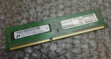 DDR3 SDRAM de ordenador Micron 1 módulos