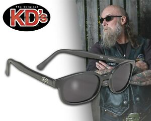 Biker Sonnebrille Original KD's dunkel getönte Gläser Sons of Anarchy NEU