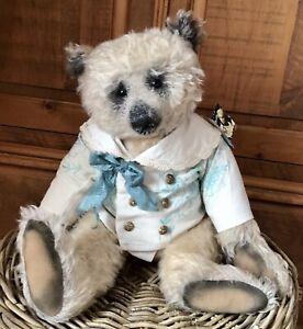 Early Portobello Bear Darling Bobby OOAK Large Antique Style Mohair Amy Goodrich