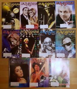 Jazz Podium 2001 komplett Jahrgang Zeitschrift Musik Magazin Sammlung Hefte