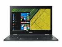 Acer Spin 5 Laptop Intel i7-8550U 1.80GHz 8GB Ram 256GB SSD Windows 10 Pro