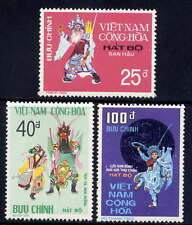 VIETNAM, SOUTH Sc#509-11 1975 National Theater MNH