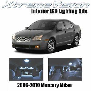 XtremeVision Interior LED for Mercury Milan 2006-2010 (10 PCS) Cool White