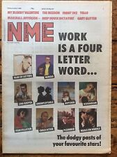 NME 10/12/88 Yello, My Bloody Valentine, Front 242, Former jobs of the stars...