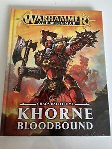 Age Of Sigmar Battletome Khorne Bloodbound Chaos Armeebuch Warhammer Fantasy