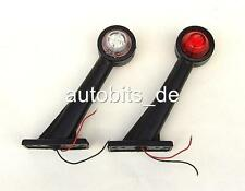 2x LED Begrenzungsleuchte Umrissleuchte LKW TRAILER Anhänger E-mark 12V 0085