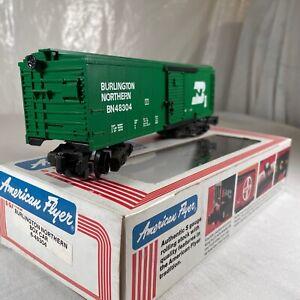 American Flyer 6-48304 S Scale Burlington Northern Boxcar LN/Box