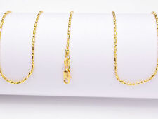 """1PCS Wholesale 18"""" nice 18K Yellow GOLD Filled BALL CHAIN NECKLACES For Pendant"""