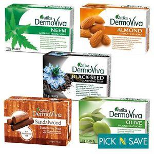Dabur Vatika Soap DermoViva (Naturally anti-bacterial Soap) 115g -  ALL VARIETY