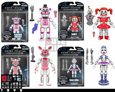 "FUNKO SISTER LOCATION SET OF 4 FUNTIME FOXY BABY BALLORA ENNARD 5"" ACTION FIGURE"