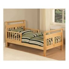 Toddler Bed With Rails Nursery Furniture For Boys Girls Bedroom Wood