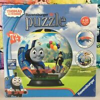 New RAVENSBURGER 3D Puzzle 72 Pieces THOMAS & FRIENDS Birthday Surprise Sphere