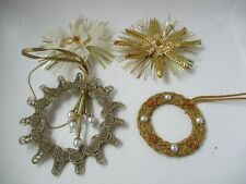Vintage Koestel Angel  Christmas Ornament set of 4