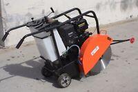 "18"" Concrete Cut-Off  Floor Saw 14HP 420cc Gas Power Engine Walk Behind EPA/CARB"