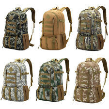 50L Outdoor Mens Camouflage Backpack Camping Travel Hiking Bag Sports Rucksack