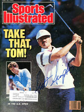 Scott Simpson Signed Sports Illustrated Autographed