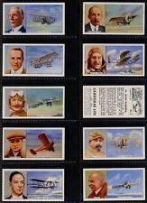 Full Set, Carreras, Famous Airmen & Airwomen 1936 (w16f073-362)