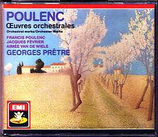 Georges PRETRE: POULENC Concerto Champretre 2 Pianos Les Biches Sinfonietta 2CD