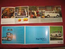 N°4250 / FIAT : dépliant 1100 D  familiale 1963