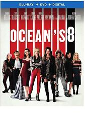 Oceans 8 (Blu-ray Disc ONLY, 2018) - no DVD or Digital Code