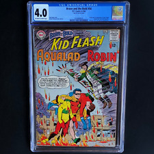 BRAVE AND THE BOLD #54 (DC 1964) 💥 CGC 4.0 OW-W 💥 1ST APP OF TEEN TITANS! KEY