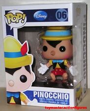FUNKO POP DISNEY PINOCCHIO #06 BLUE BOX LABEL RETIRED VINYL FIGURE In Stock