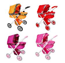 Puppenwagen Kinderwagen Babypuppenwagen Rosa Rot Orange Violett Hohe Qualität