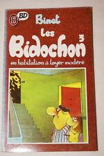 LES BIDOCHONS TOME 3 EN HABITATION A LOYER MODERE  BINET1988