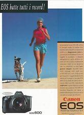 Camera CANON EOS 600 1989 Vintage Print Ad # 73 0