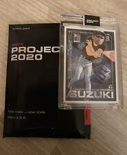 """Topps Project 2020 Ichiro Suzuki Ben Baller Parody Custom Art 1/1 """"ITCHiro"""" #1"""