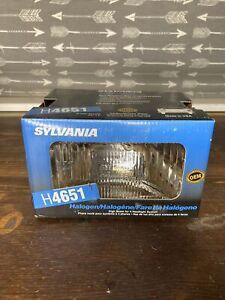"""H4651 Sylvania USA Halogen NOS O.E. High Beam Headlight 6-1/2"""" x 4"""""""