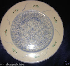 "MESA INTERNATIONAL BEAR 8.75"" SALAD PLATE FISH ON THE RIM MADE IN HUNGARY SPONGE"