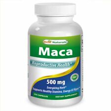 Best Naturals, Maca 500 mg 250 Capsules *Reproductive Health*