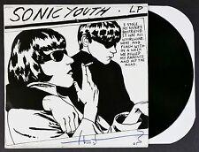 "THURSTON MOORE SONIC YOUTH  SIGNED GOO 12"" LP COLOR VINYL RECORD ALBUM W/ COA"
