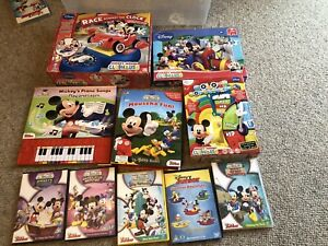 Mickey Mouse Club House Toys and DVD bundle.