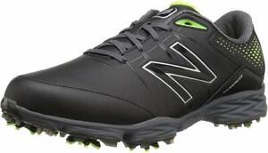 New Balance Men's NBG2004 Golf Shoe BLACK