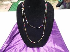 Contemporary Necklace Made by Native American Artist - Venetian Trade Beads