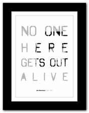 More details for jim morrison ❤ typography quote poster art limited edition print the doors #12