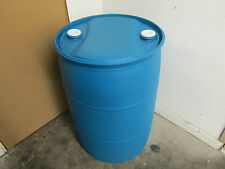 55 Gallon BARRELS CLOSE TOP PLASTIC FOOD GRADE WATER DRUM STORAGE Local Pick up