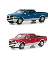 Greenlight 2018 Dodge Ram 2500 Big Horn Harvest Ed Pickup Truck 1:64 Red or Blue