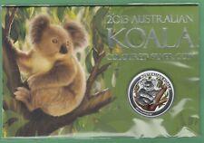 2013 Australian Koala Coloured 1OZ Silver Coin  - Sealed