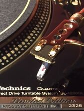 Technics SL-1200GLD 24K Gold-Plated Limited Edition (#2326) Turntable