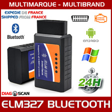 INTERFACE ELM 327 BLUETOOTH OBD2 ODB2 DIAGNOSTIQUE DIAG SCAN Torque Android